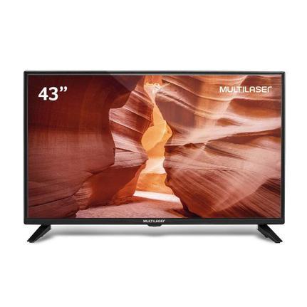 """Tv 43"""" Lcd Multilaser Full Hd Smart - Tl018"""