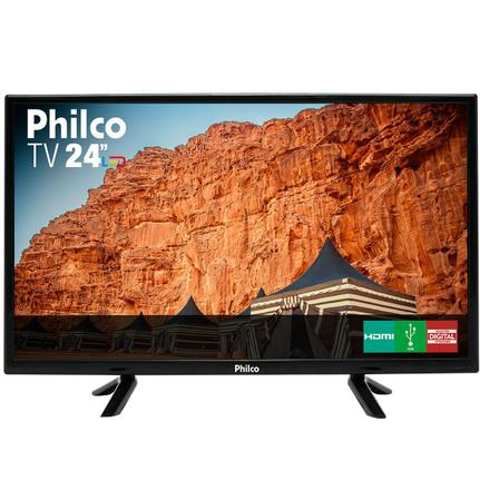 "Tv 24"" Led Philco Hd - Ptv24c10d"