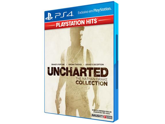 Jogo Uncharted: The Nathan Drake Collection - Playstation 4 - Sieb
