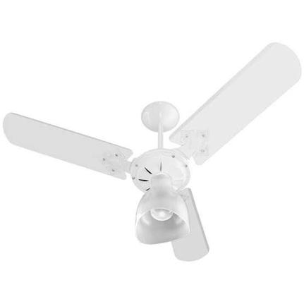 Ventilador de teto new delta ligh 110v branco - Venti-Delta