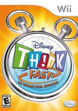 Jogo Think Fast - Wii - Disney Interactive