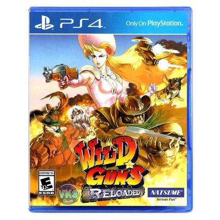 Jogo Wild Guns: Reloaded - Playstation 4 - Natsume