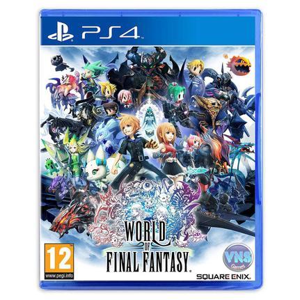 Jogo World Of Final Fantasy - Playstation 4 - Square Enix