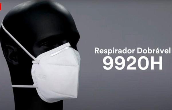 Imagem de 10 Máscaras N95 3M 9920H com Registro Anvisa e selo Inmetro