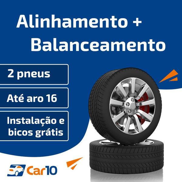 Imagem de Alinhamento + Balanceamento + Instalação de 2 pneus - Car10