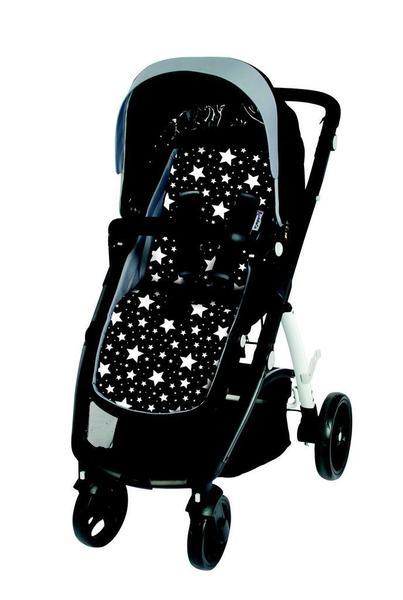 Imagem de Almofada para Carrinho com Espuma de Viscoelástico Comfi-Cush Stars - Clingo