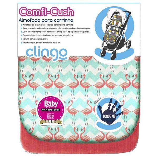 Imagem de Almofada Para Carrinho De Bebê Comfi-cush Flamingo Clingo
