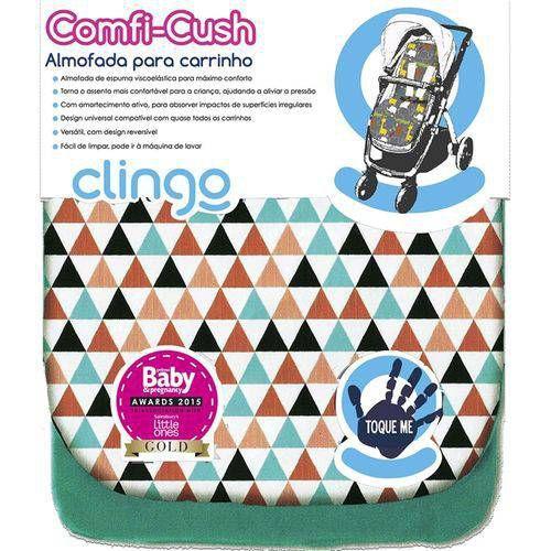 Imagem de Almofada para Carrinho de Bebê Comfi-cush Triângulo Clingo