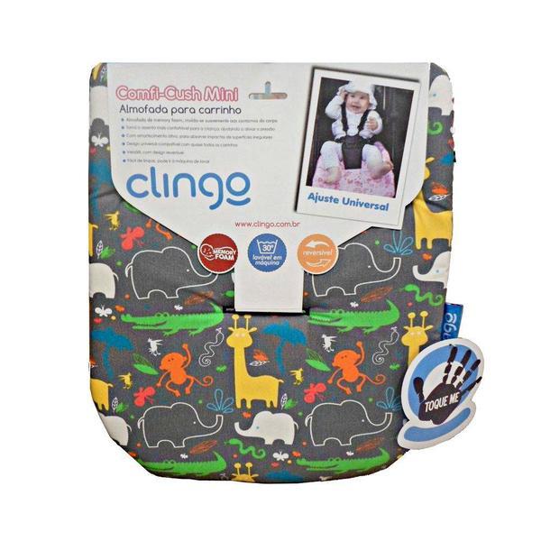Imagem de Almofada Para Carrinho Mini Memory Foam Jungle Boogie - Clingo