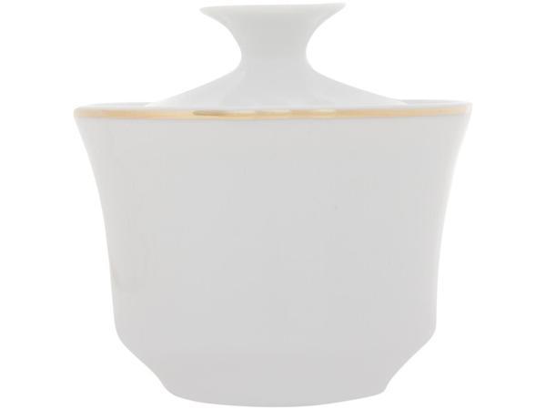 Imagem de Aparelho de Café de Porcelana Schmidt Filete Ouro