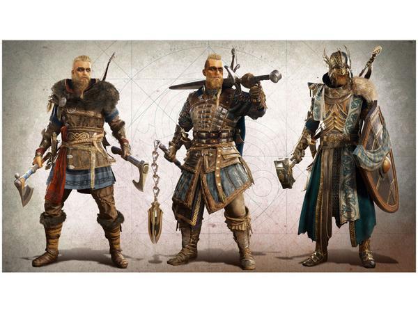 Imagem de Assassins Creed Valhalla para PS4 Ubisoft - Edição Limitada