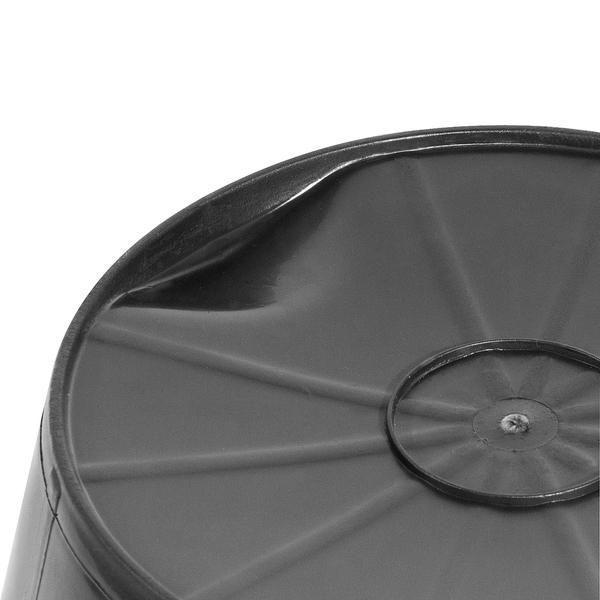 Imagem de Balde de plástico extraforte 12 litros preto - Vonder