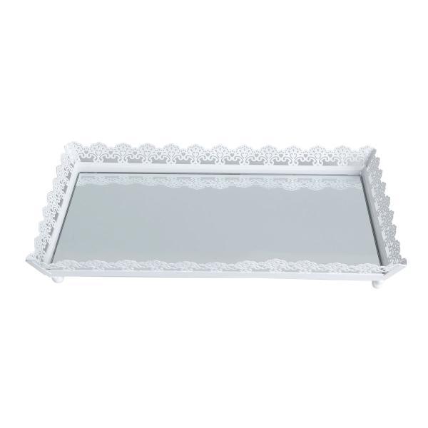 Imagem de Bandeja De Ferro Esmaltado Com Espelho 30cm Bon Gourmet
