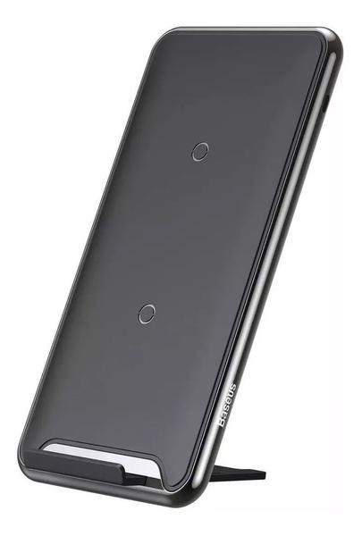 Imagem de Base Carregador Sem Fio Wireless S10 Note 10 iPhone 11 Baseu