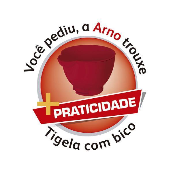 Imagem de Batedeira Planetária Arno Food Preparation Vermelha 600W
