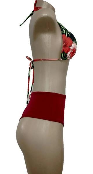 Imagem de Biquíni Hotpant Cintura Alta Com Top - Vila Beach Wear