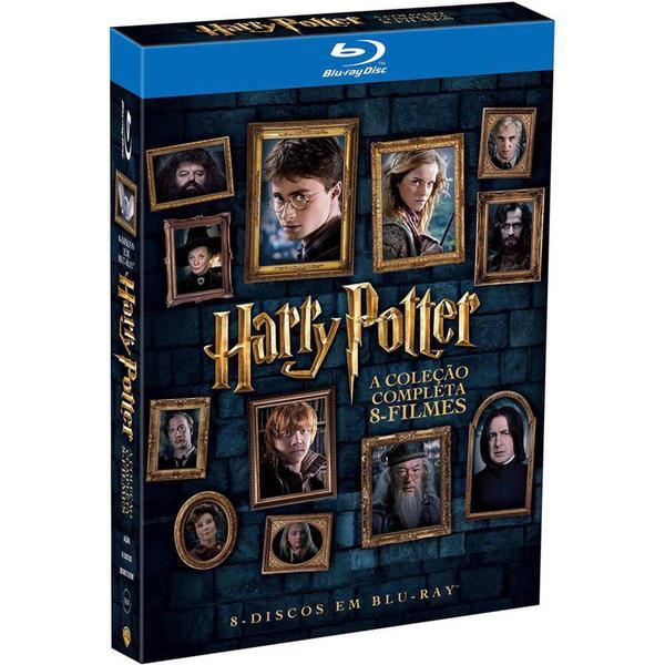 Imagem de Blu-Ray Harry Potter - A Coleção Completa - 8 Discos - Warner home video