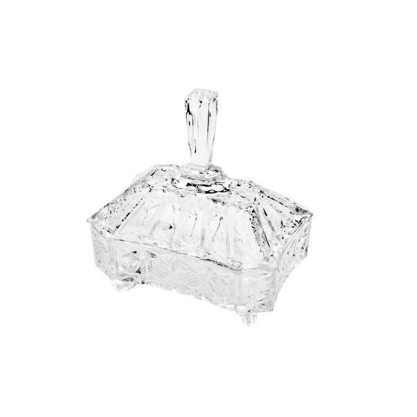 Imagem de Bomboniere de Cristal Com Pés Megan 7123 Lyor