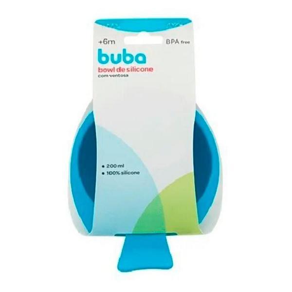 Imagem de Bowl De Silicone Com Ventosa Azul Buba