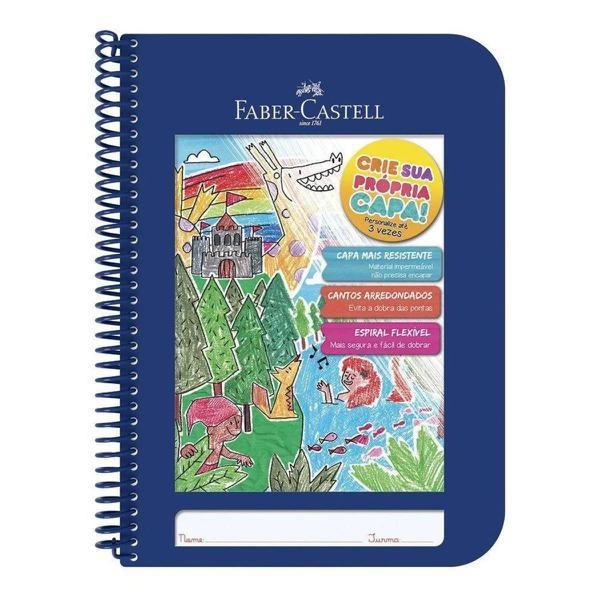 Imagem de Caderno Criativo Capa Azul - Faber Castell