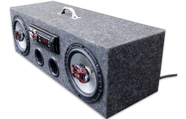 Imagem de Caixa Residencial Radio Bluetooth + Par Falante 6 Bravox - Oestesom