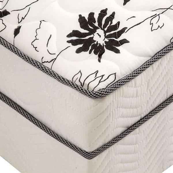 Imagem de Cama Box Conjugado Union Solteiro Ortbom (88X188X43)