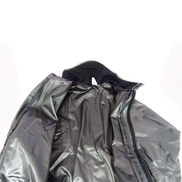 Imagem de Capa de Chuva Alba Europa Masculina PVC c/ Gola Motoqueiro