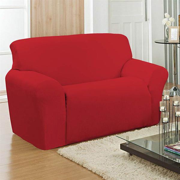 Imagem de Capa para sofá canelada 2 lugares -  arte  cazza