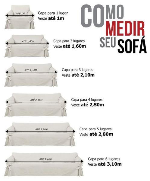 Imagem de Capa para Sofá de 3 lugares em Acquablock Impermeável