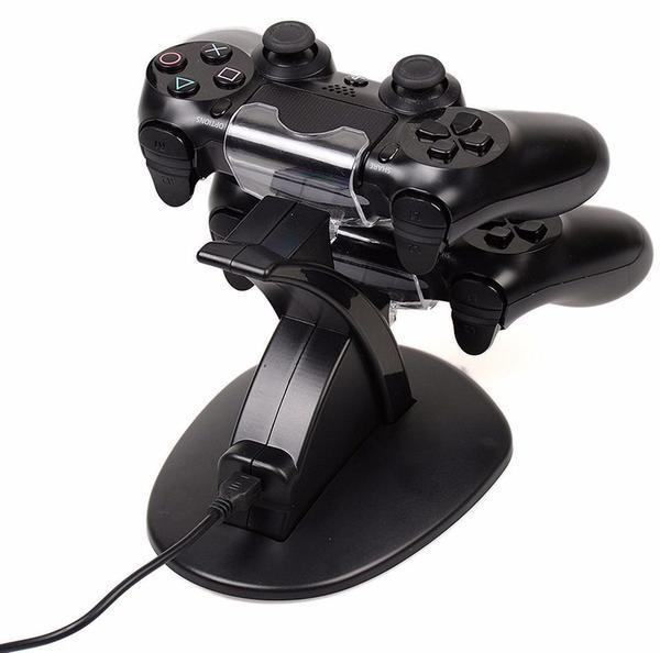 Imagem de Carregador Duplo Para Controle PlayStation 4 Ps4 Slim Pro - Kingo