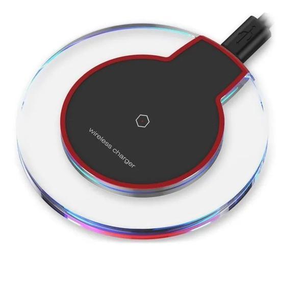 Imagem de Carregador Sem Fio Indução Qi Para Smartphone Universal