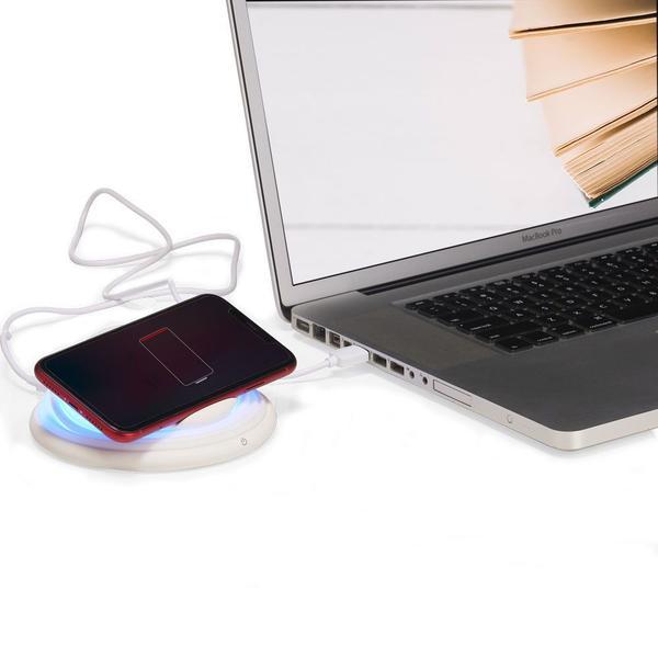 Imagem de Carregador Sem Fio Indução Qi Wireless Iphone Samsung
