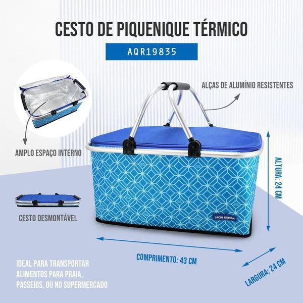 Imagem de Cesto de Piquenique Térmico Jacki Design Fresh