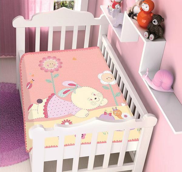 Imagem de Cobertor bebê raschel