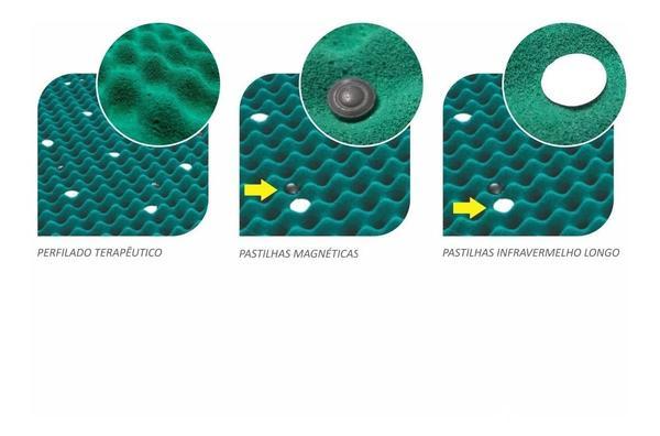 Imagem de Colchão Magnético Massageador Bio Quântico Casal Padrão - Soft Premium
