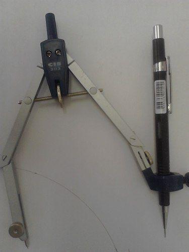 Imagem de Compasso Técnico 3 Articulações Suporte Lapiseiras Cis 303
