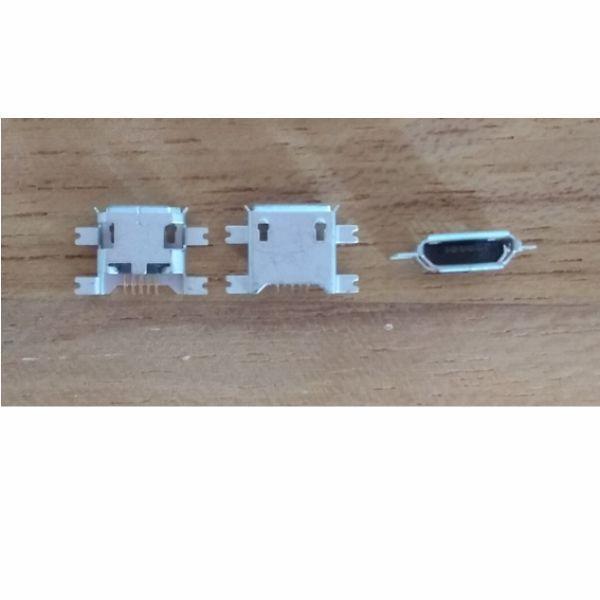 Imagem de Conector Carga Micro Usb Tablet Celular V8 5 Terminais