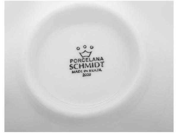 Imagem de Conjunto de Bowls Branco Porcelana Schmidt 500ml