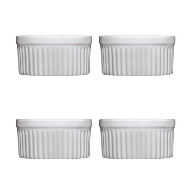 Imagem de Conjunto de ramekins de porcelana 4 peças