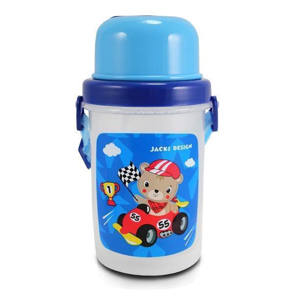 Imagem de Conjunto Pote para Lanche e Squeeze filhotinhos Menino Jacki Design