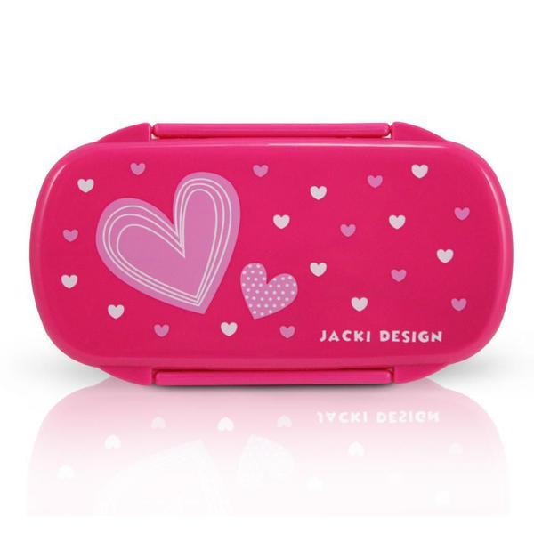 Imagem de Conjunto Pote para Lanche e Squeeze Infantil Sapeka Menina Jacki Design