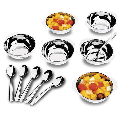 Imagem de Conjunto sobremesa aço inox 12 peças