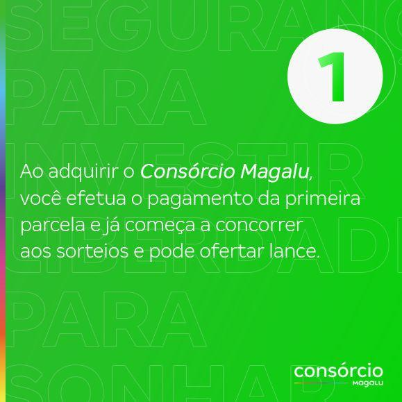 Imagem de Consórcio de Moto 20 Mil - Consórcio Magalu