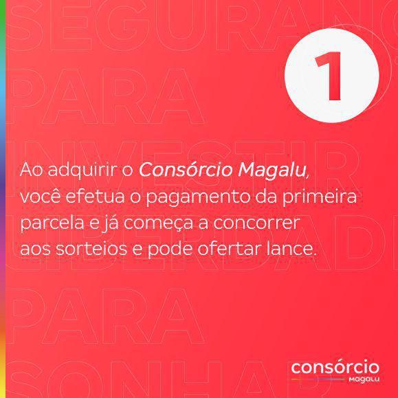Imagem de Consórcio de Serviços 25 Mil - Consórcio Magalu