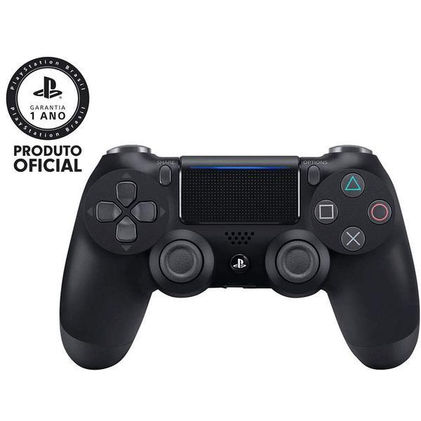 Imagem de Controle sem Fio Dualshock 4 Sony PS4 - Preto