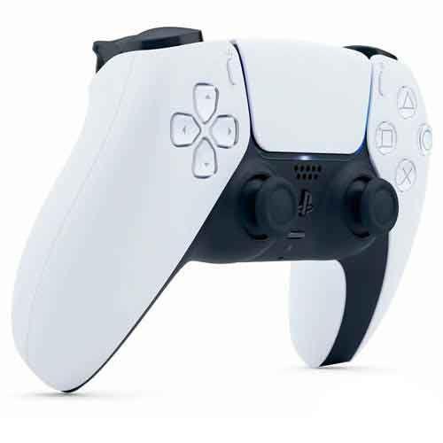 Imagem de Controle sem Fio Sony DualSenseT Branco e Preto para Playstation 5