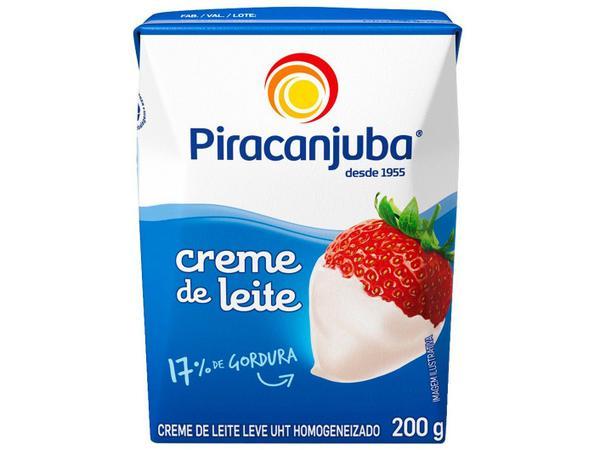 Imagem de Creme de Leite Integral Piracanjuba 200g
