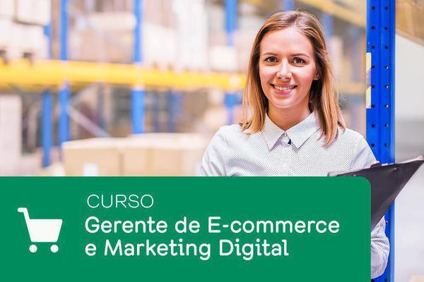 Imagem de Curso de Gerente de Ecommerce e Marketing Digital