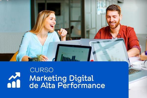Imagem de Curso de Marketing Digital de Alta Performance