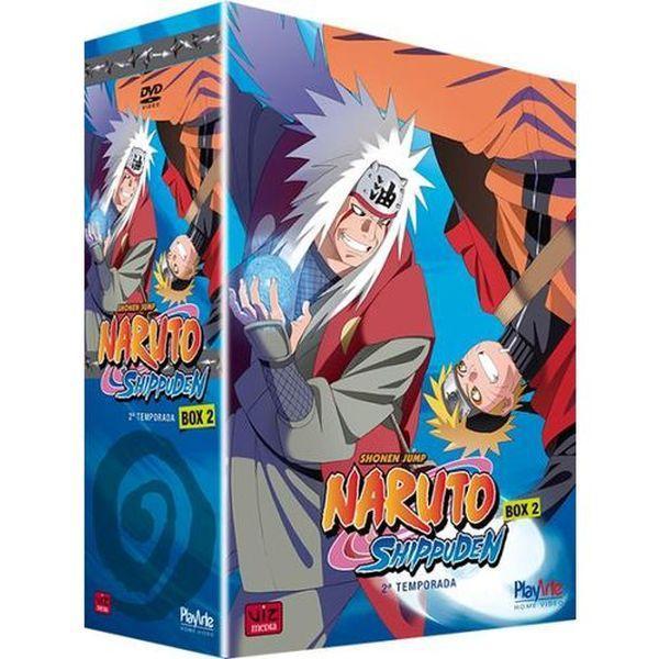 Imagem de DVD Naruto Shippuden - Box 2- 2ª Temporada - 5 Discos - Playarte